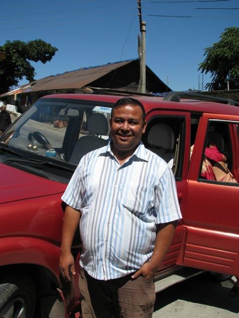 Mr. Deepak Chheti drove us through the hills of Darjeeling