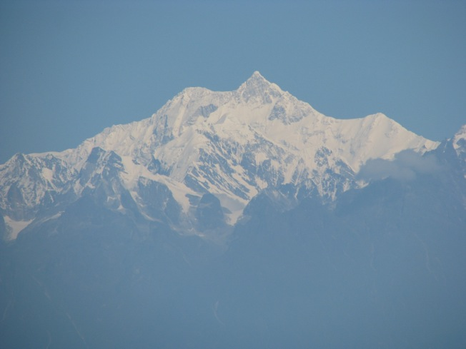 View of Kanchenjunga from Darjeeling
