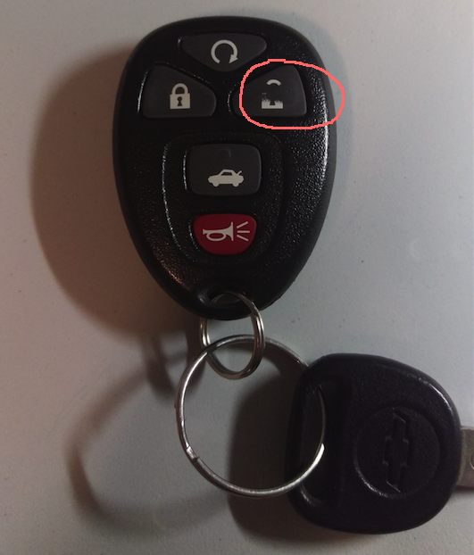 My GM key fob